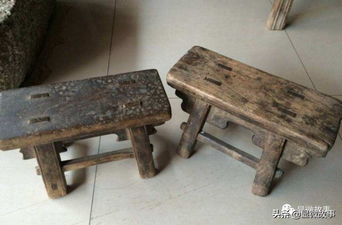 图 | 占座用的小板凳