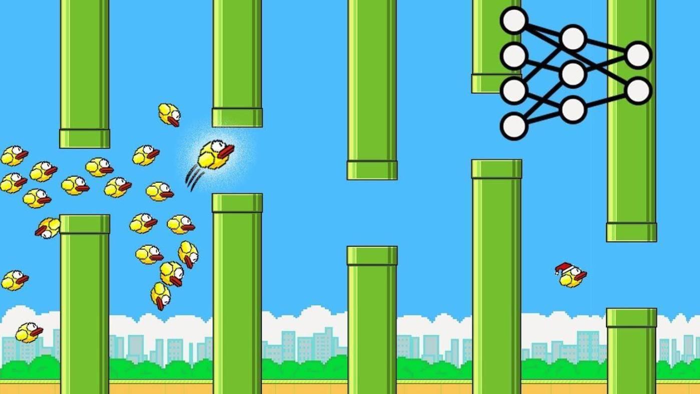 Flappy Bird游戏界面