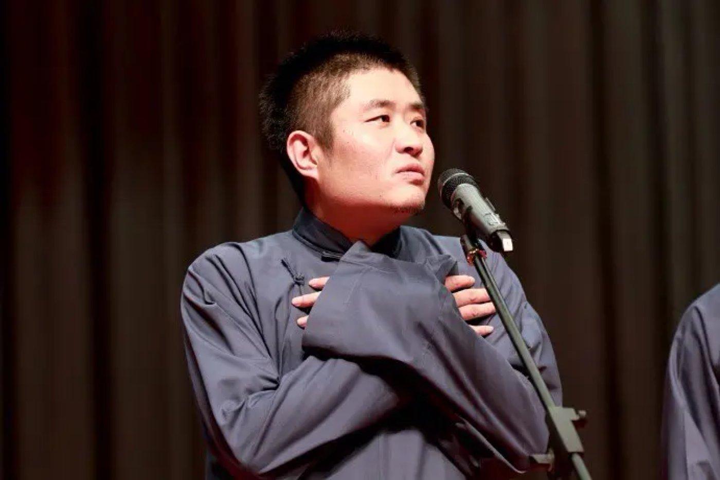 相声演员苗阜,图片来源@豆瓣