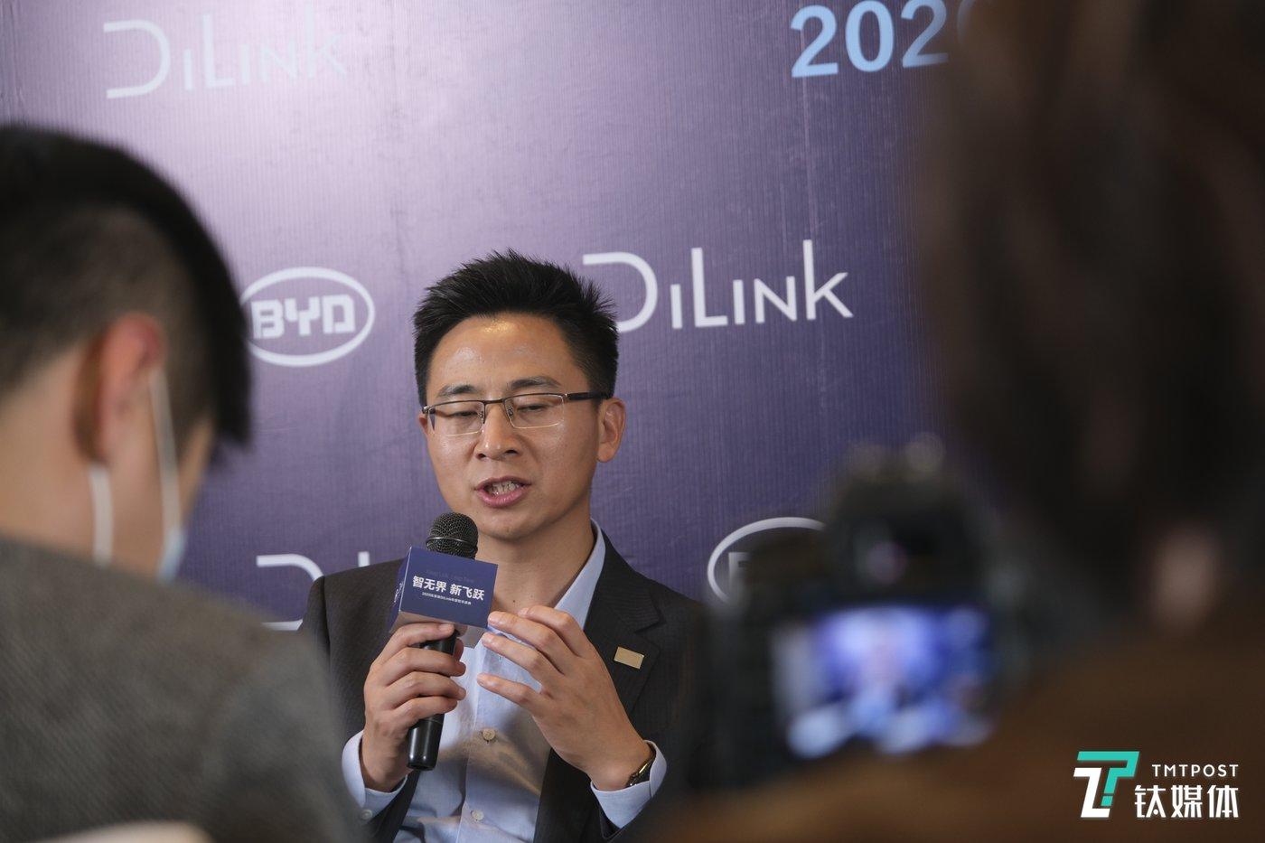 比亚迪产品规划及汽车新技术研究院院长杨冬生