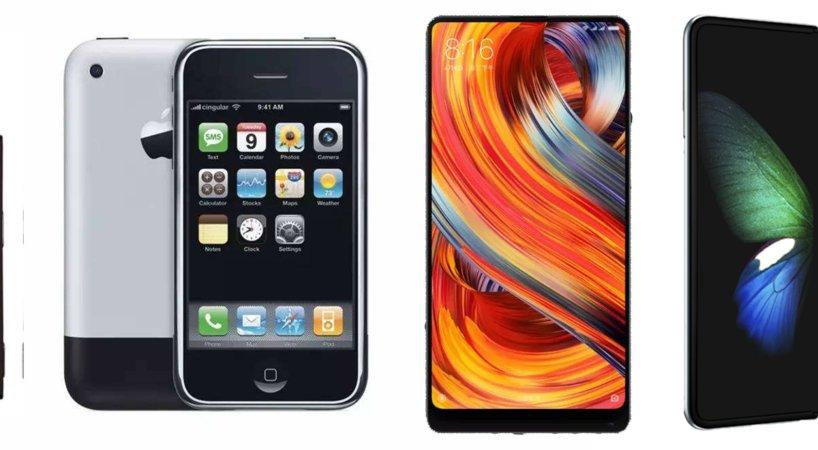 由直变弯,智能手机屏幕13年中经历了这些改变 | 钛度实验室