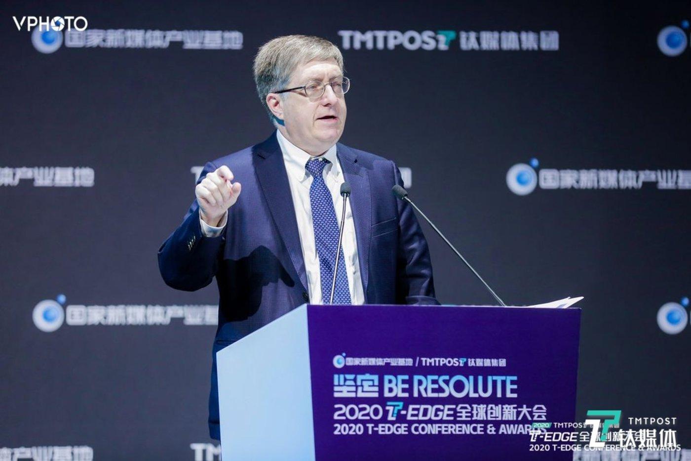 上海美国商会董事会主席Jeffrey Lehman