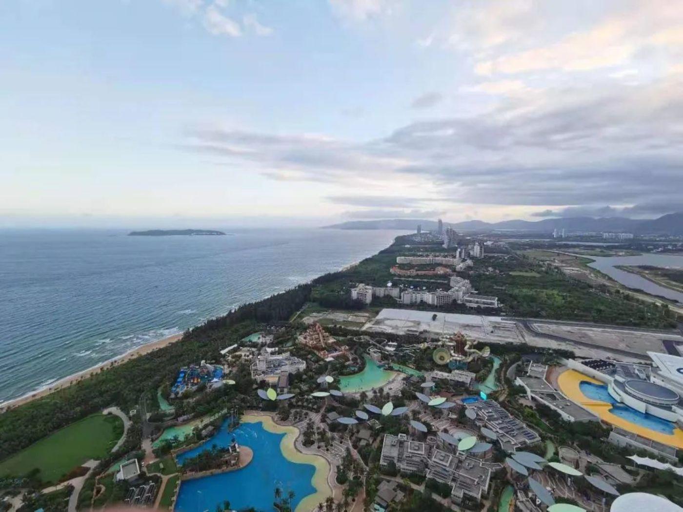 三亚海棠湾俯瞰