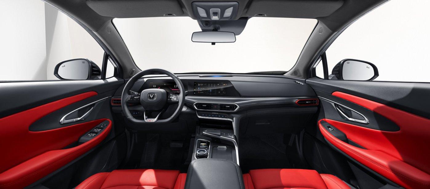 未来智慧驾舱UNI Life车载智能交互系统,图片来源@长安官网