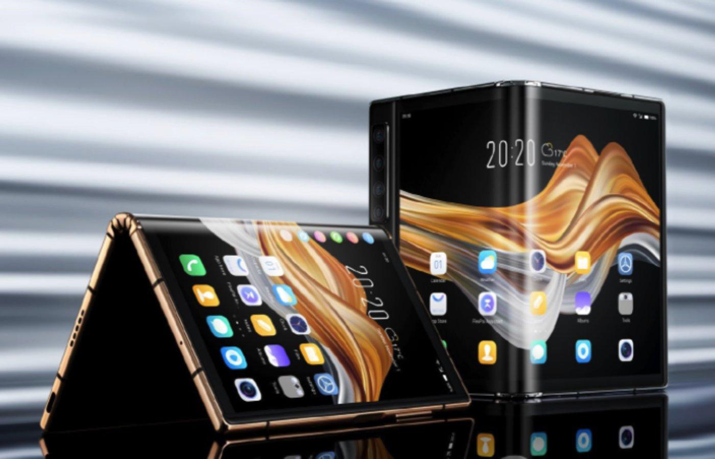 柔宇FlexPai 2折叠屏手机