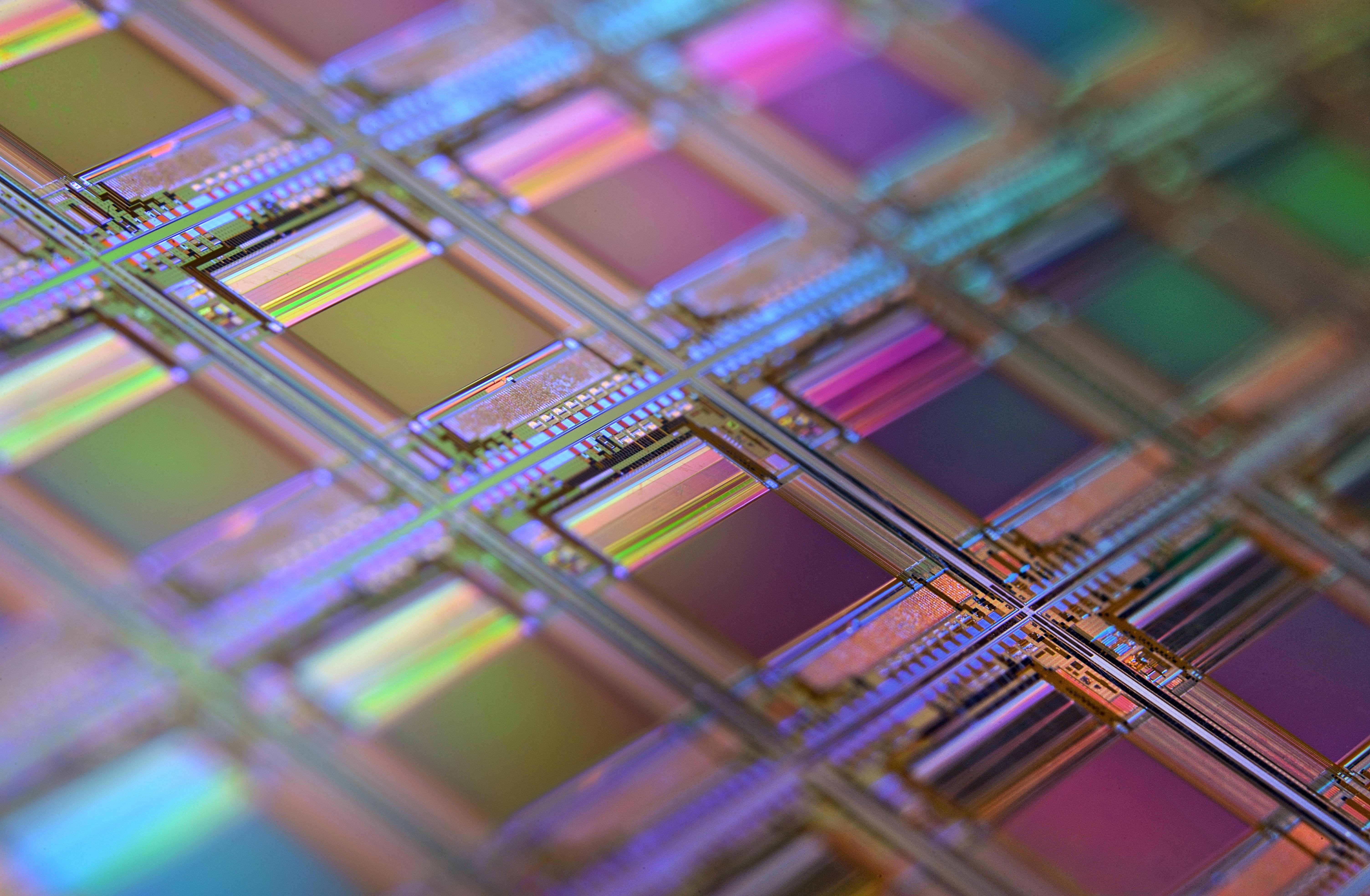Silicon Chips(图片来源:Unsplash)