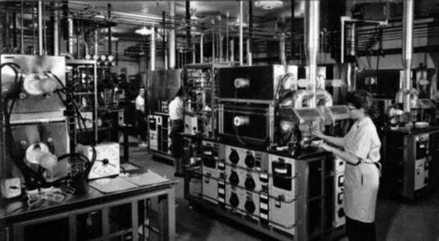 1960年仙童半导体工厂