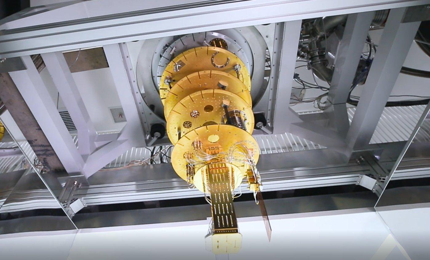 """本源超导量子计算机""""悟源"""""""