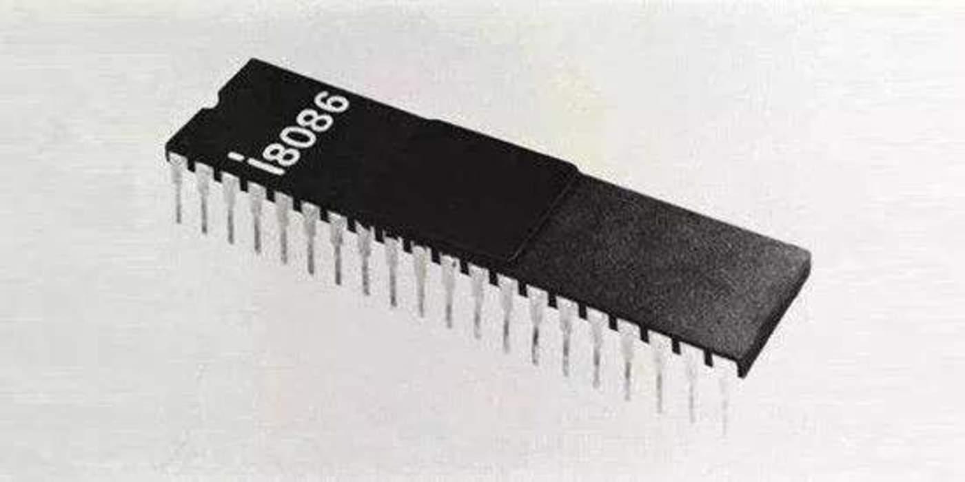 1978年x86架构鼻祖英特尔8086问世