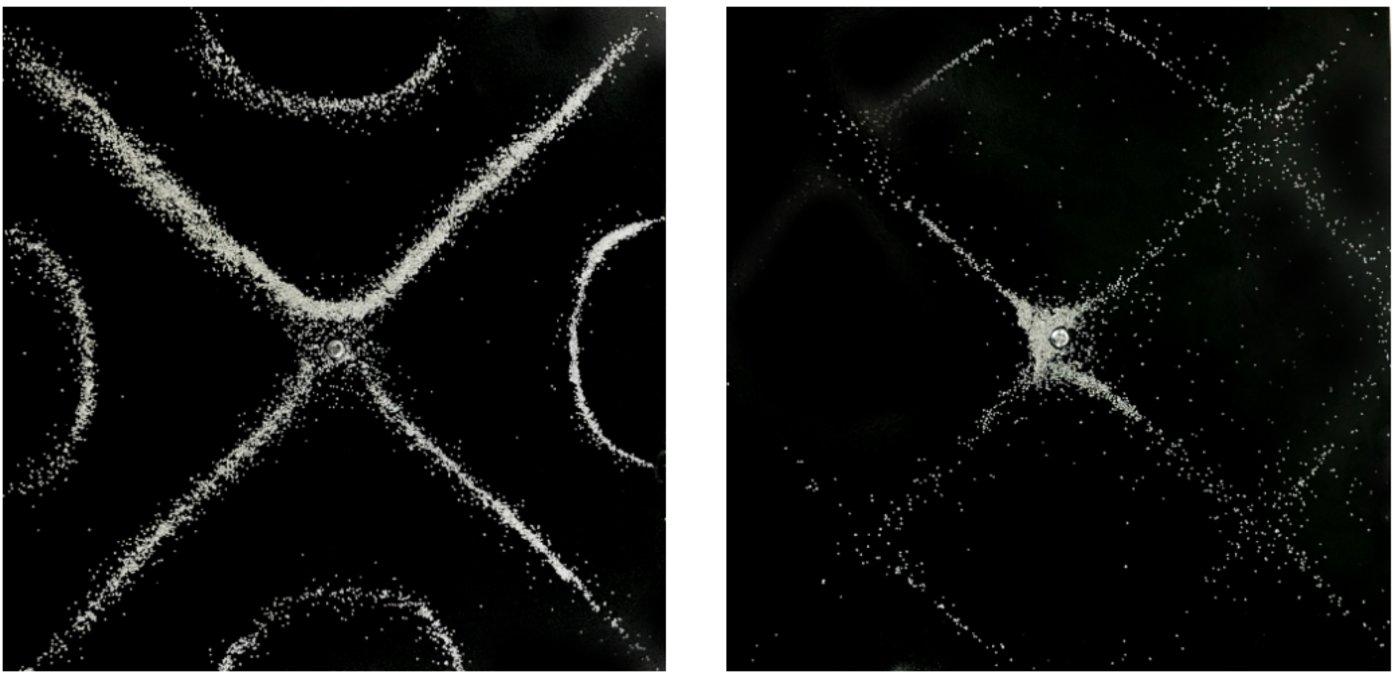 """克拉尼图形  图源:Thomas Forrister 文章《克拉尼板如何让你""""看见""""声音?》"""