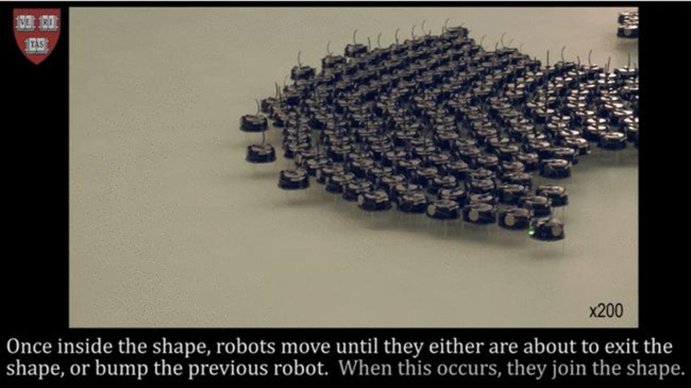 图| Kilobots 机器人(来源:哈佛大学)