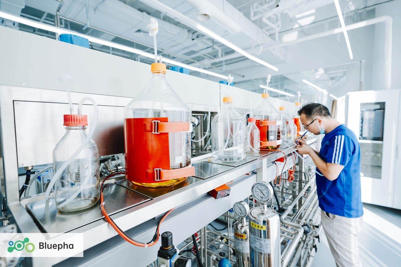 图|蓝晶微生物数字化生物反应器平台