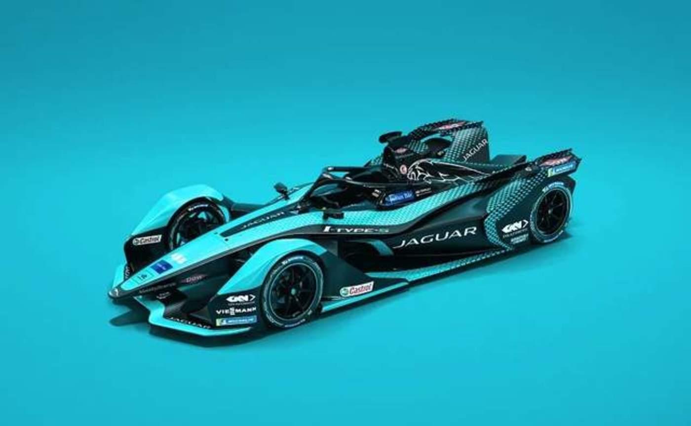 2021赛季捷豹车队的赛车