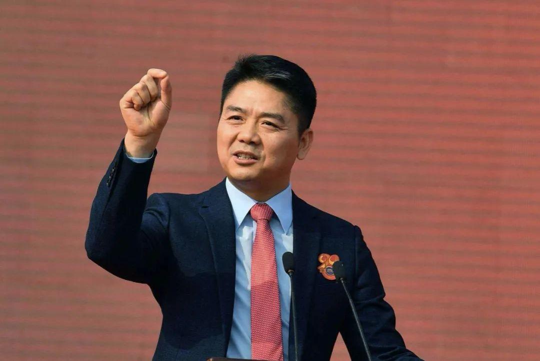 刘强东重回台前
