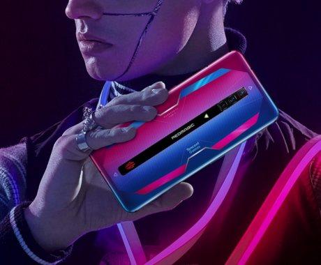 腾讯红魔游戏手机6系列发布,165Hz刷新率+120W快充 | 钛快讯