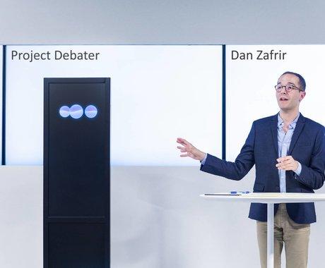 装了4亿篇档案的AI和人辩论谁赢了?IBM最强AI辩手首次登上《自然》封面