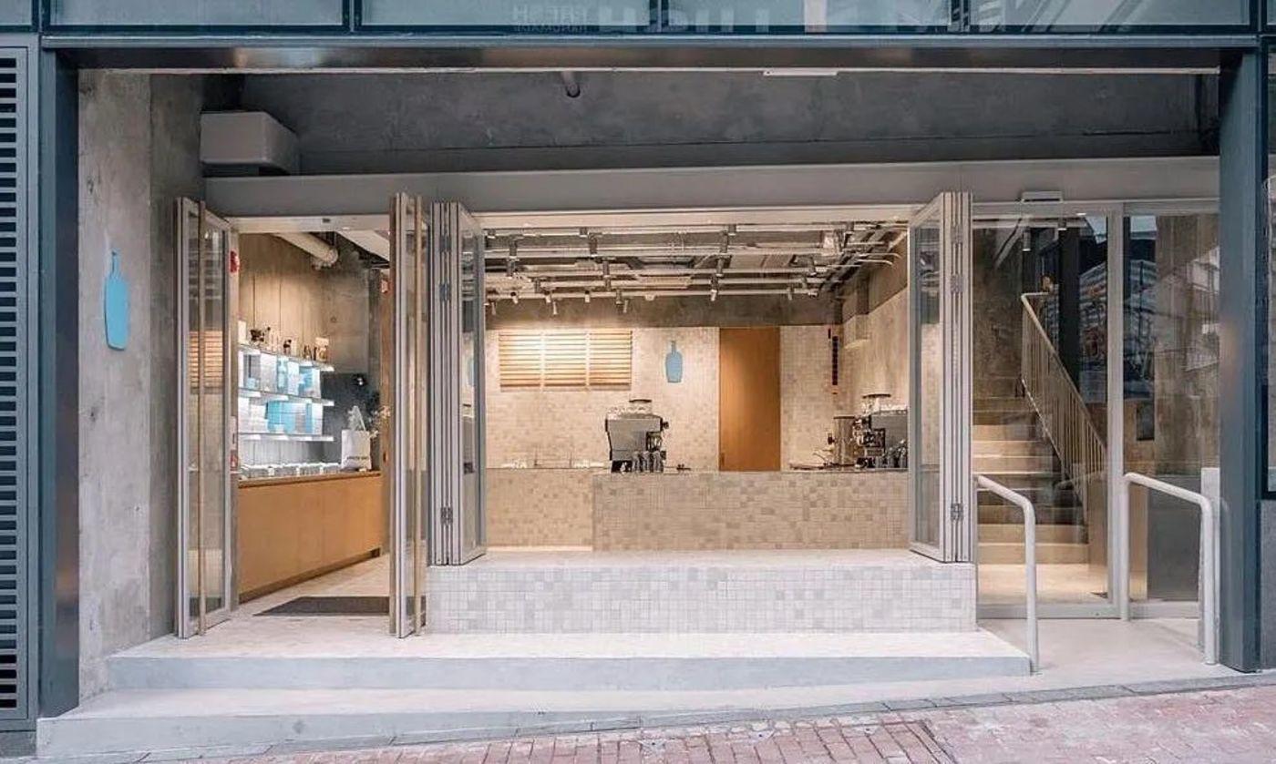 蓝瓶咖啡香港首店