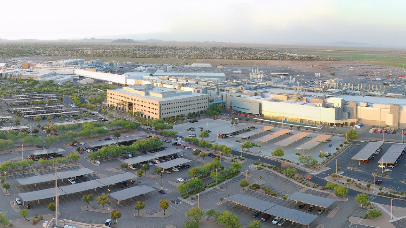 英特尔位于亚利桑那州的制造工厂来源:英特尔
