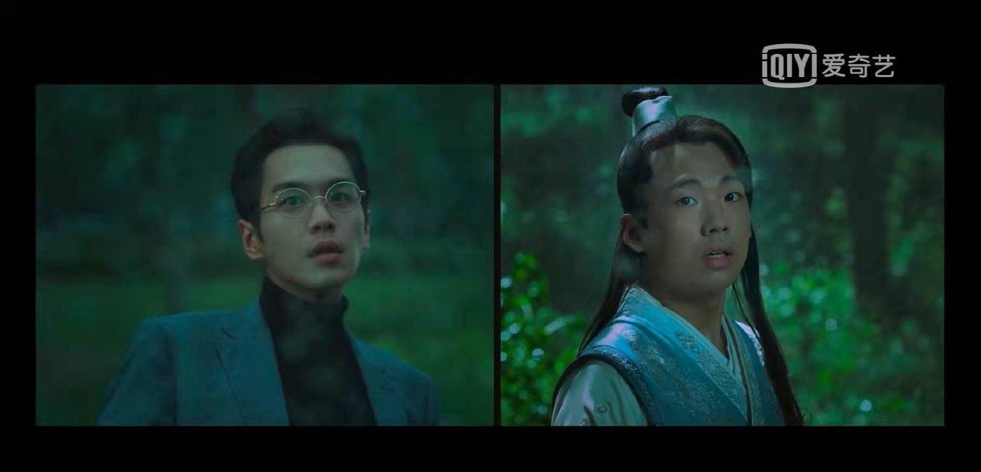 """剧中,张若昀""""魂穿""""成郭麒麟"""