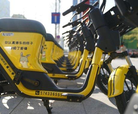 共享电单车跑不出黑马