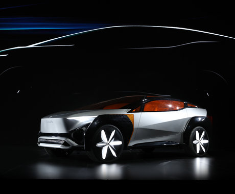 """东风汽车品牌转型发布""""东风风起""""计划,并公布L4级自动驾驶概念车   2021上海车展"""