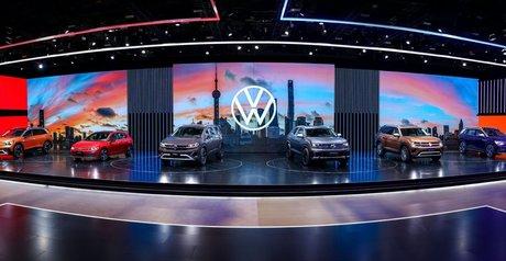 大众汽车发布6款新车型  其中3款为全球首发车型   2021上海车展