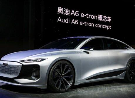 奥迪A6 e-tron concept等车型首发,与上汽合作加码在华布局