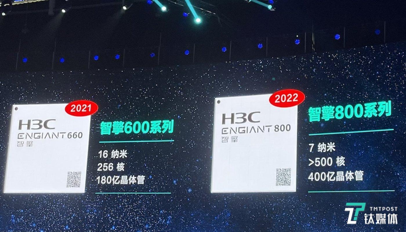 新华三自主研发高性能智能网络处理器