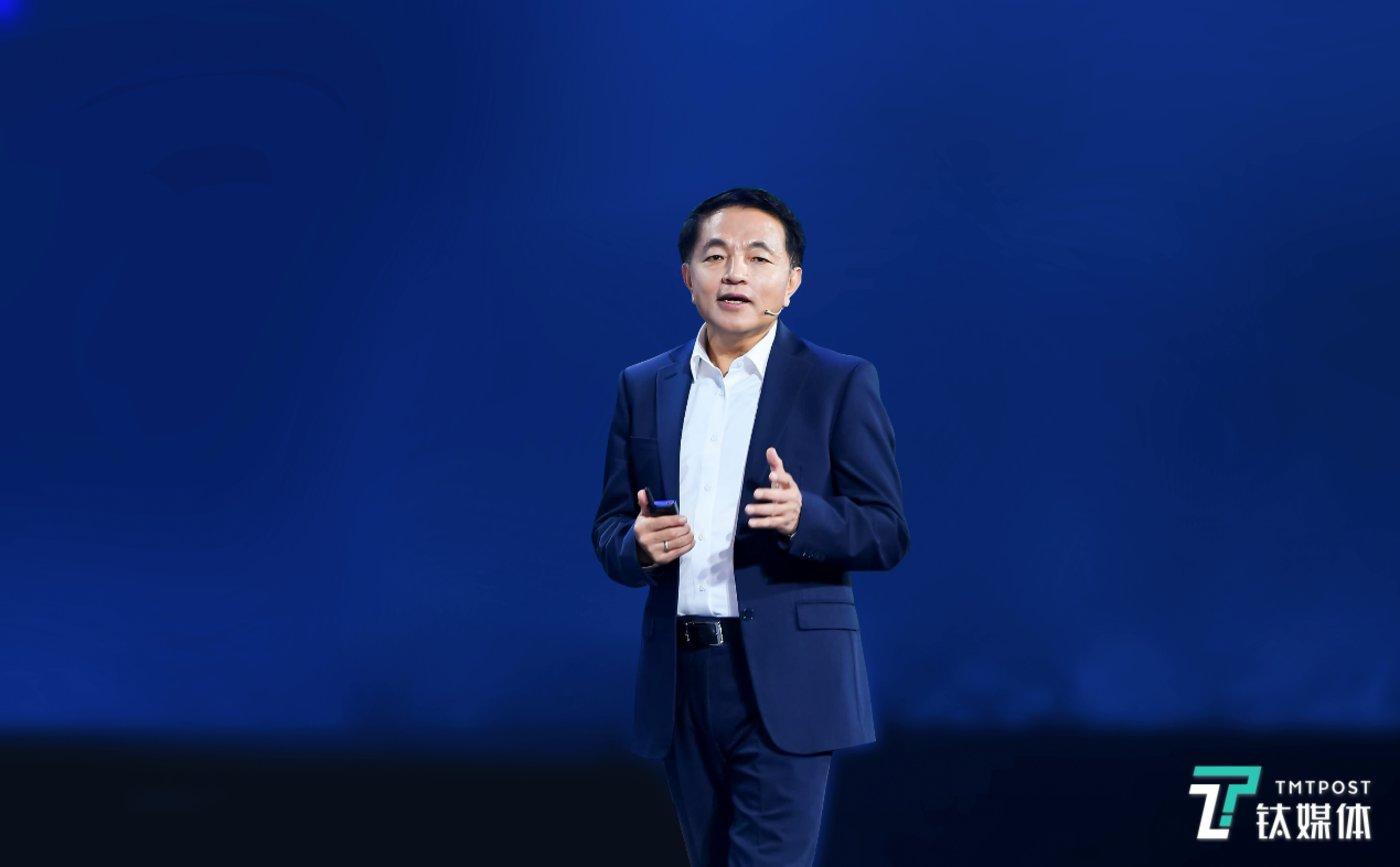 新华三集团高级副总裁、紫光云与智能事业群执行总裁陈子云
