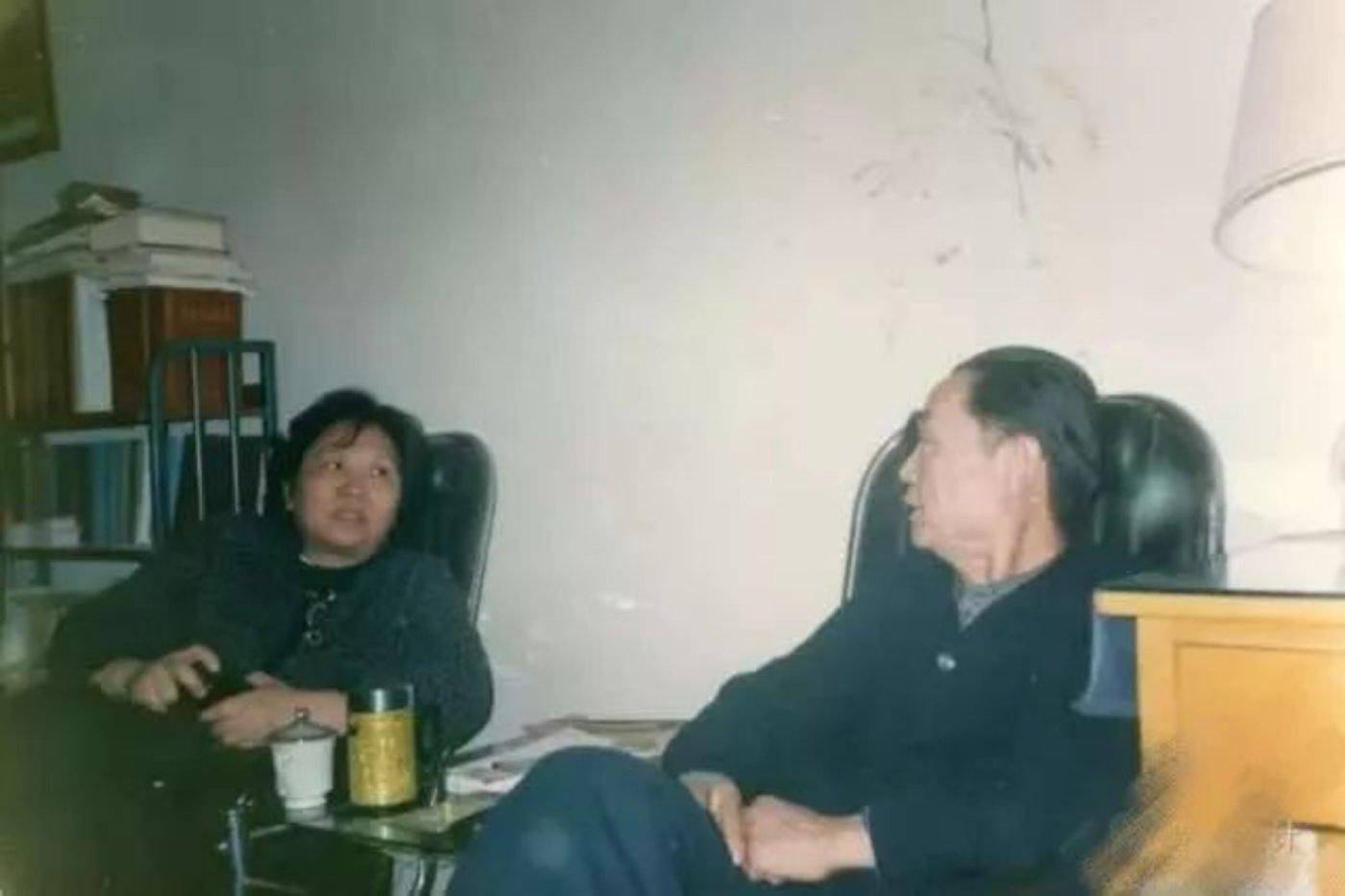 杨纪琬(右)与杨周南(左)