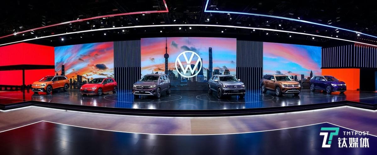 大众汽车发布6款新车型  其中3款为全球首发车型 | 2021上海车展
