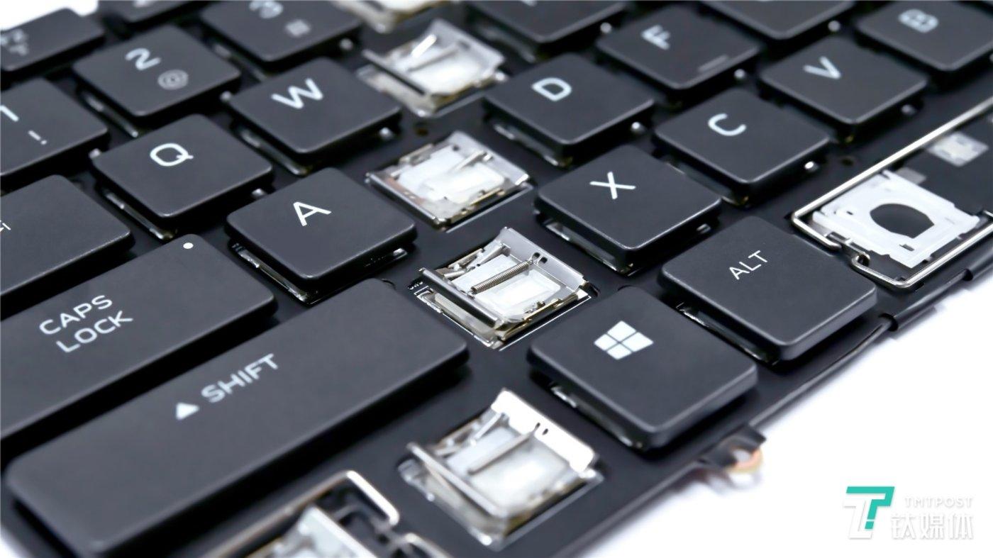 CHERRY MX X型鸥翼式机械键盘