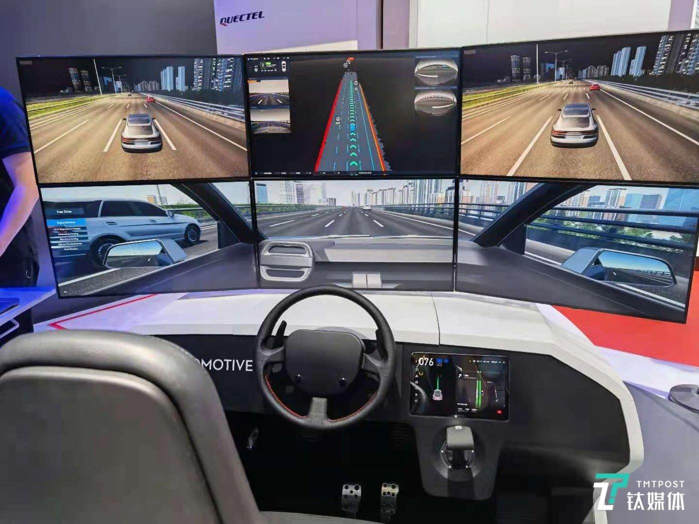 大疆自动驾驶模拟系统展示