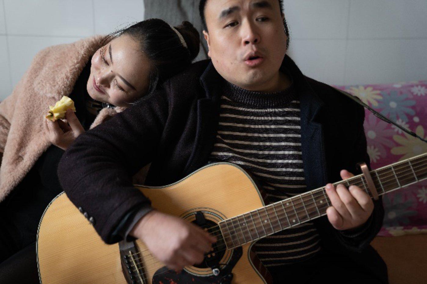 2020年12月23日,黎洪和陈芳在四川宜宾翠屏区的家中
