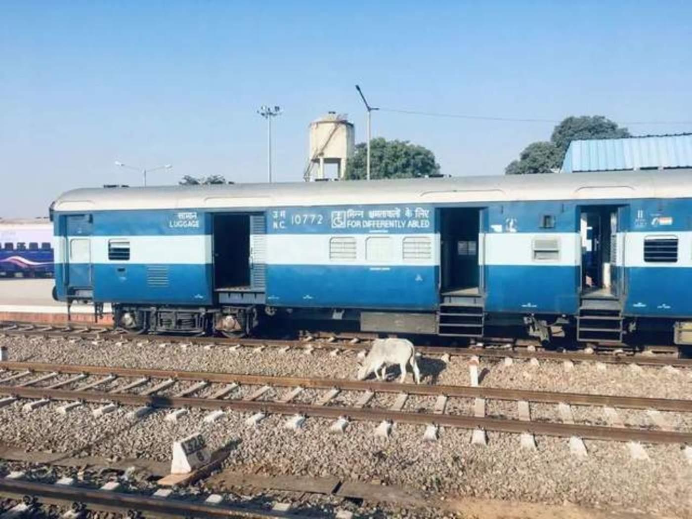 印度的火车 / 受访者供图