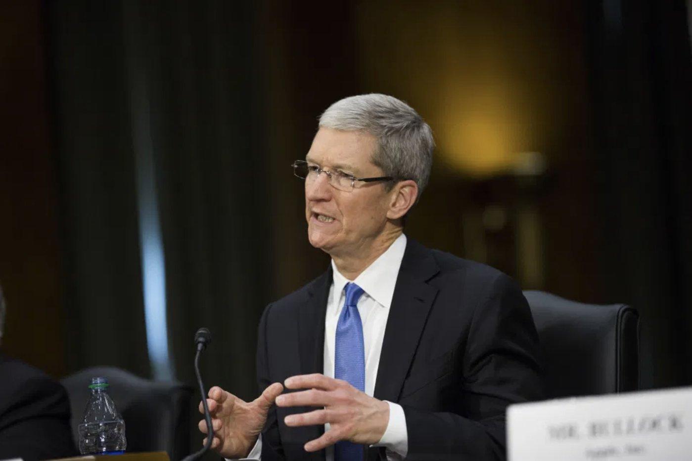(蒂姆·库克就app分发垄断问题为苹果辩护)