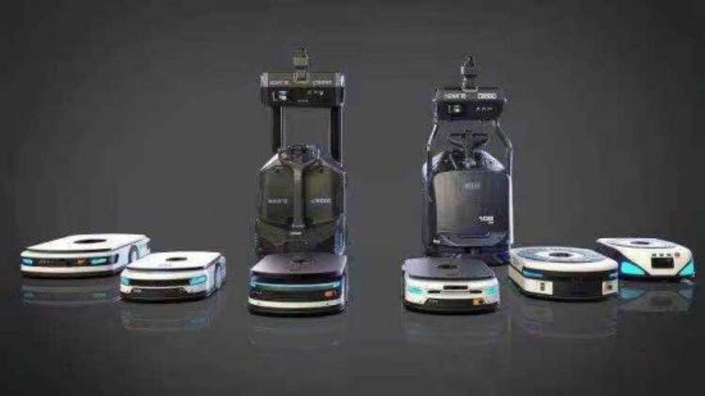 旷视机器人产品全家福