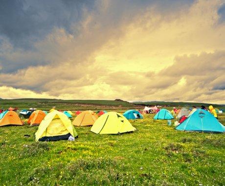 露营与精致的距离