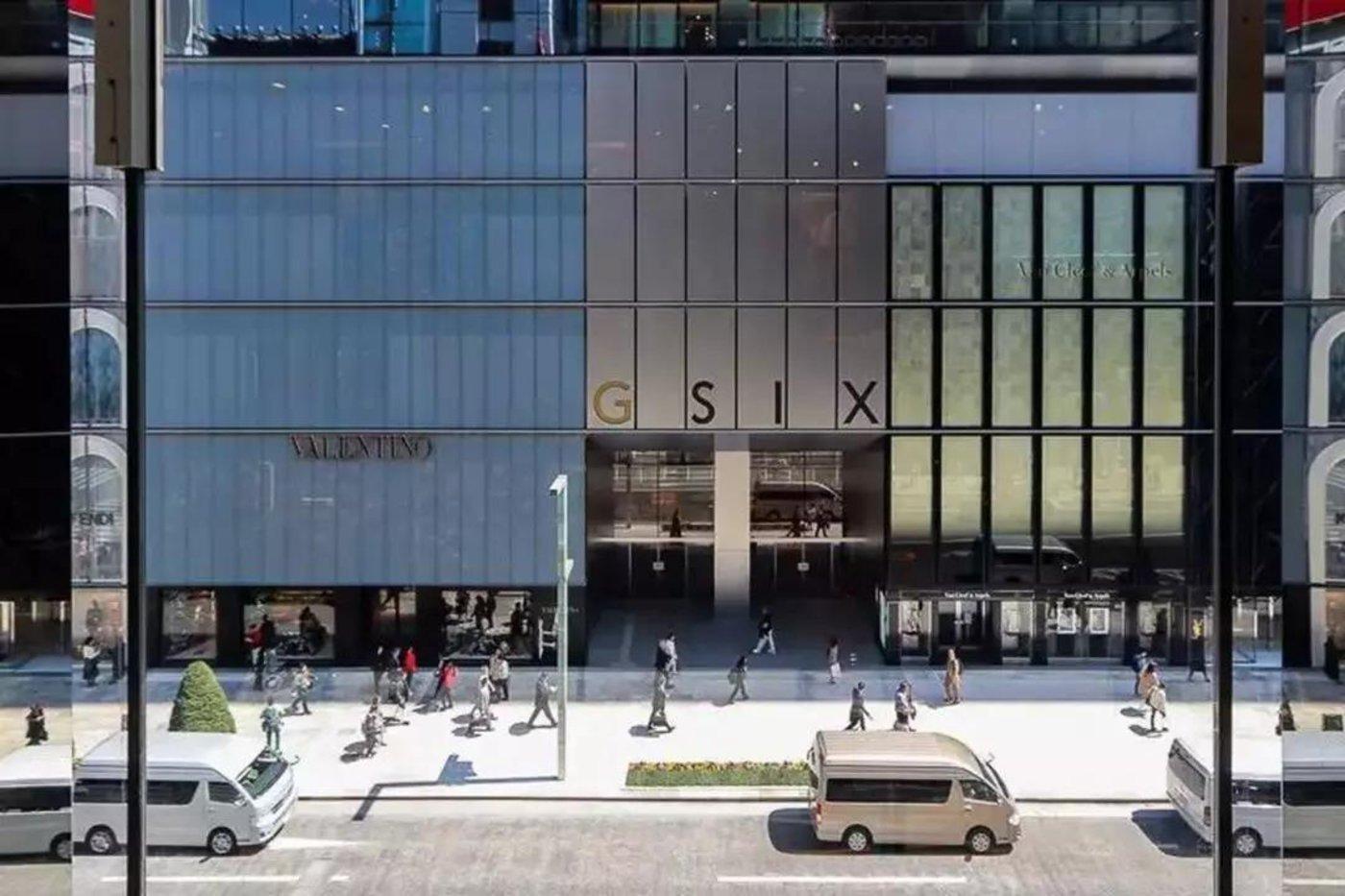 """▲有""""六星级购物中心""""之称的日本GINZA SIX,开业于2017年,除了集成了诸多艺术家作品与设计外,其内部店铺也以细节而著称于日本。"""