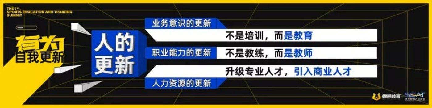 懒熊体育:中国体育教育产业的4个年少和3个有为
