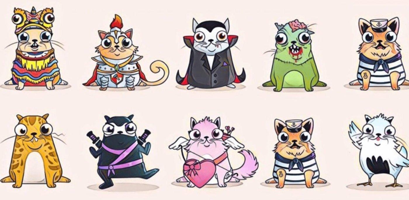 加密猫游戏曾风靡一时