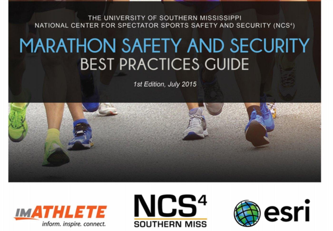 《马拉松赛事安全与保障最佳指南》第一版封面
