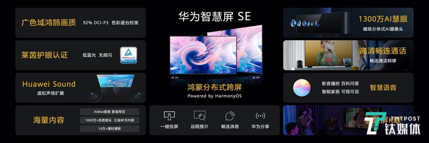 华为智慧屏SE系列