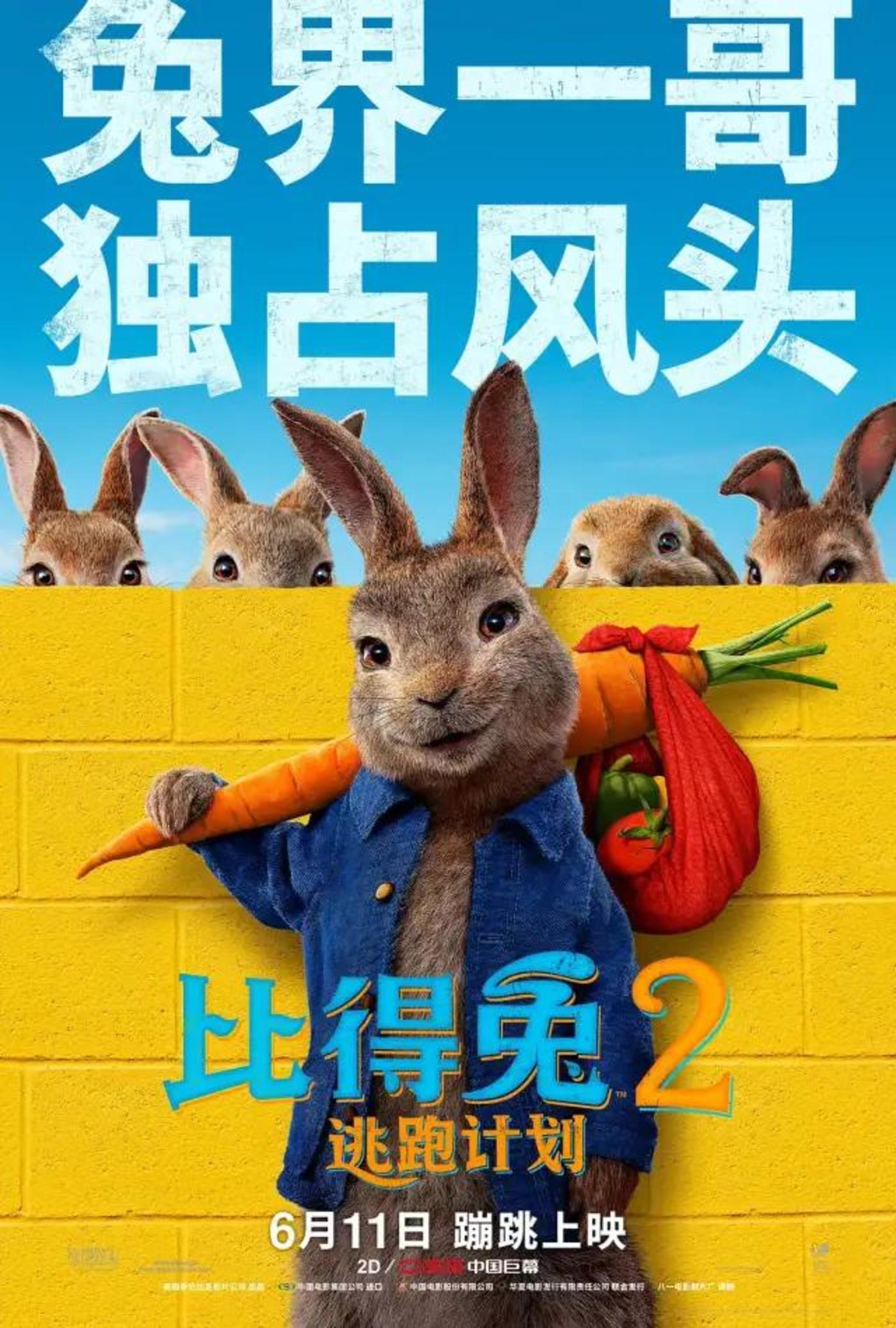 《比得兔2》