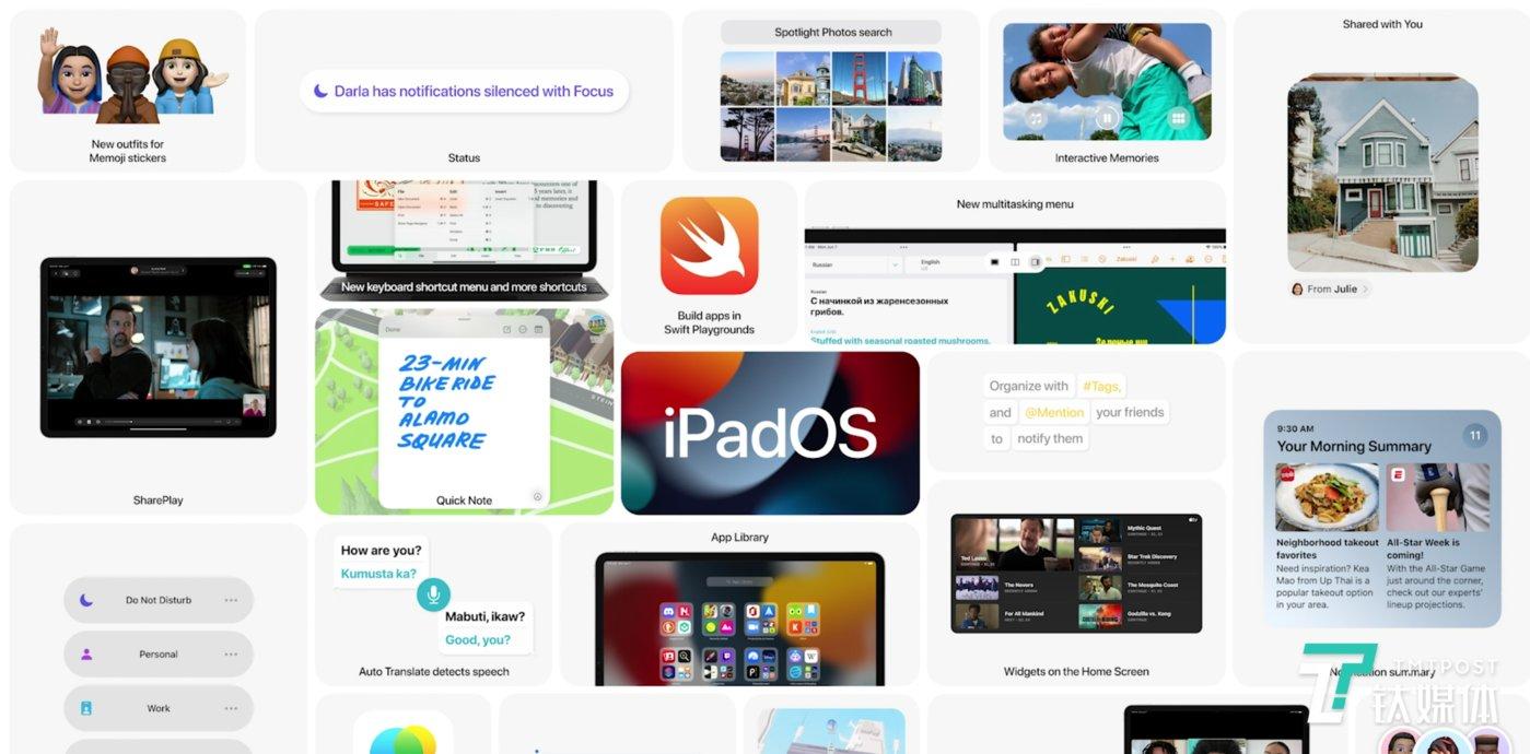 iPadOS升级一览