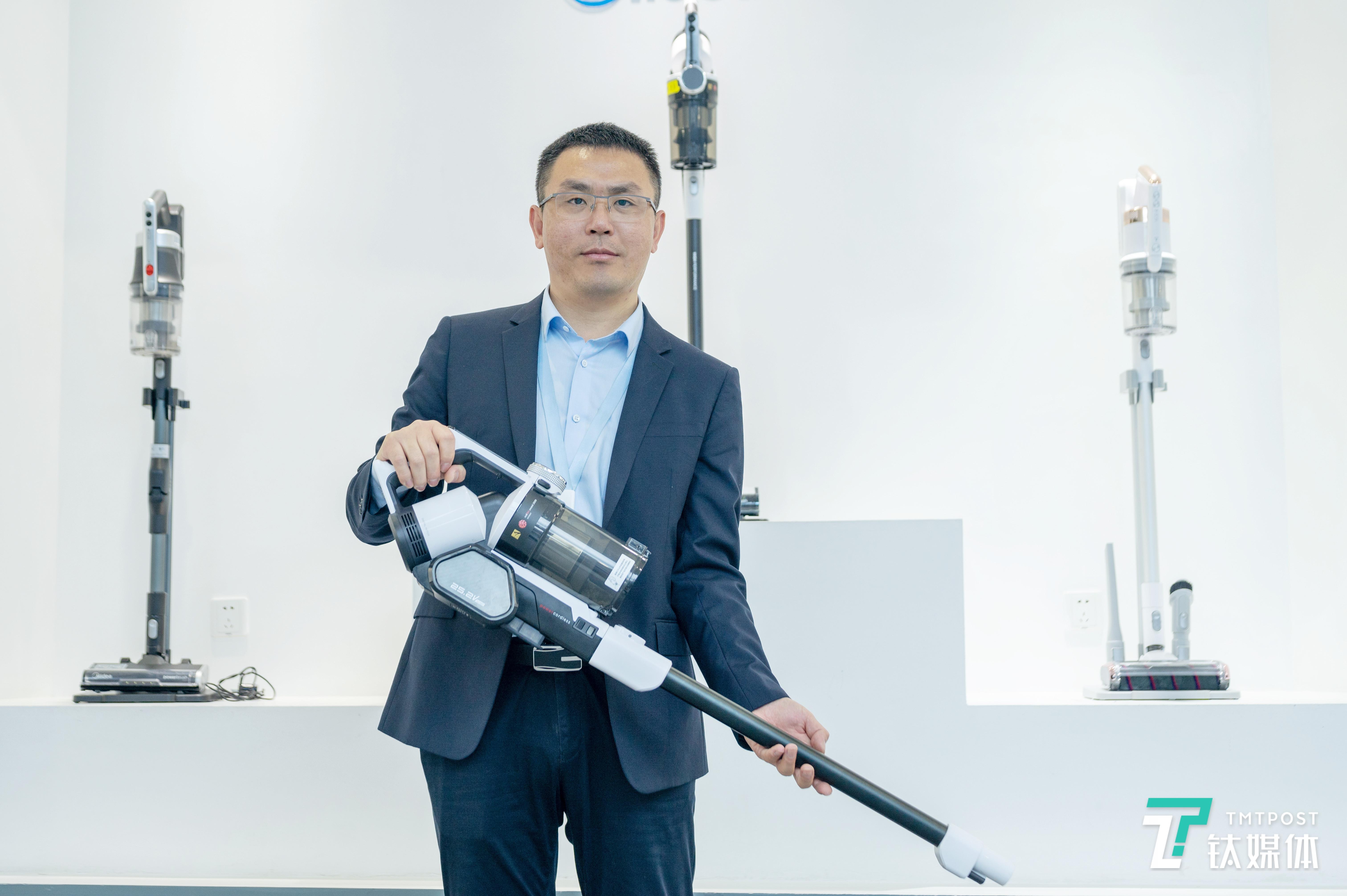 美的集团微波和清洁事业部吸尘器高级开发工程师殷雪冰