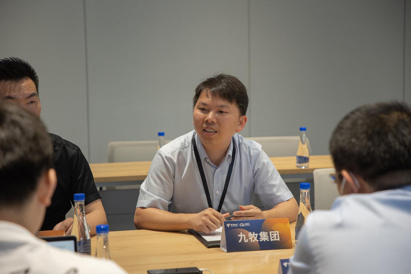 九牧集团CIO叶火龙