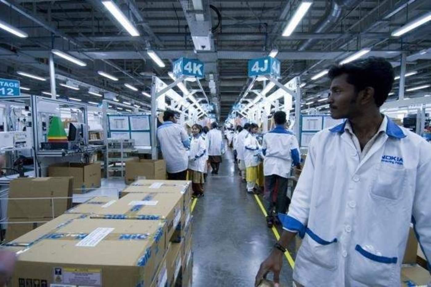 疫情前印度的手机工厂 / iResearch