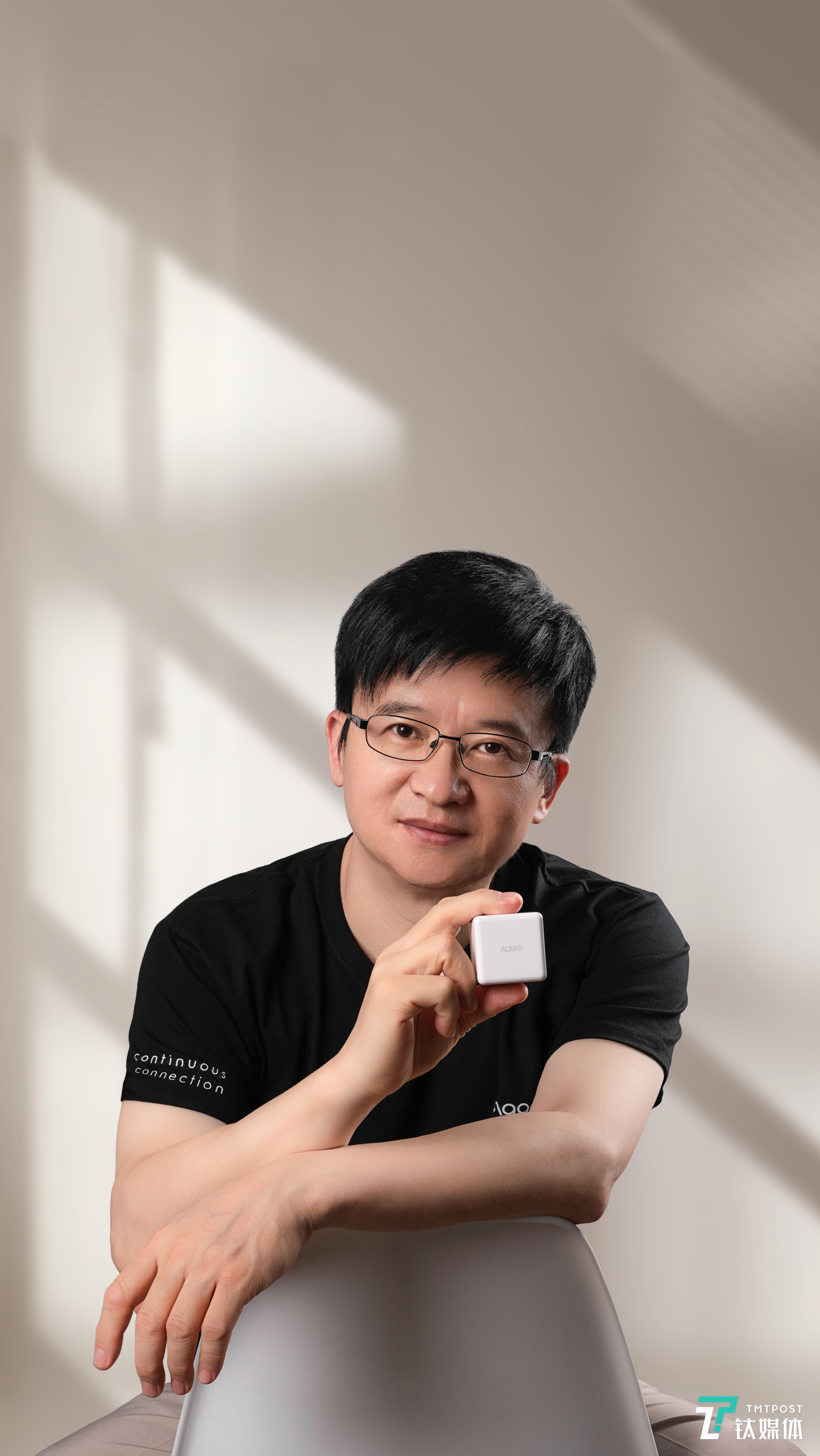 绿米联创CEO兼创始人游延筠