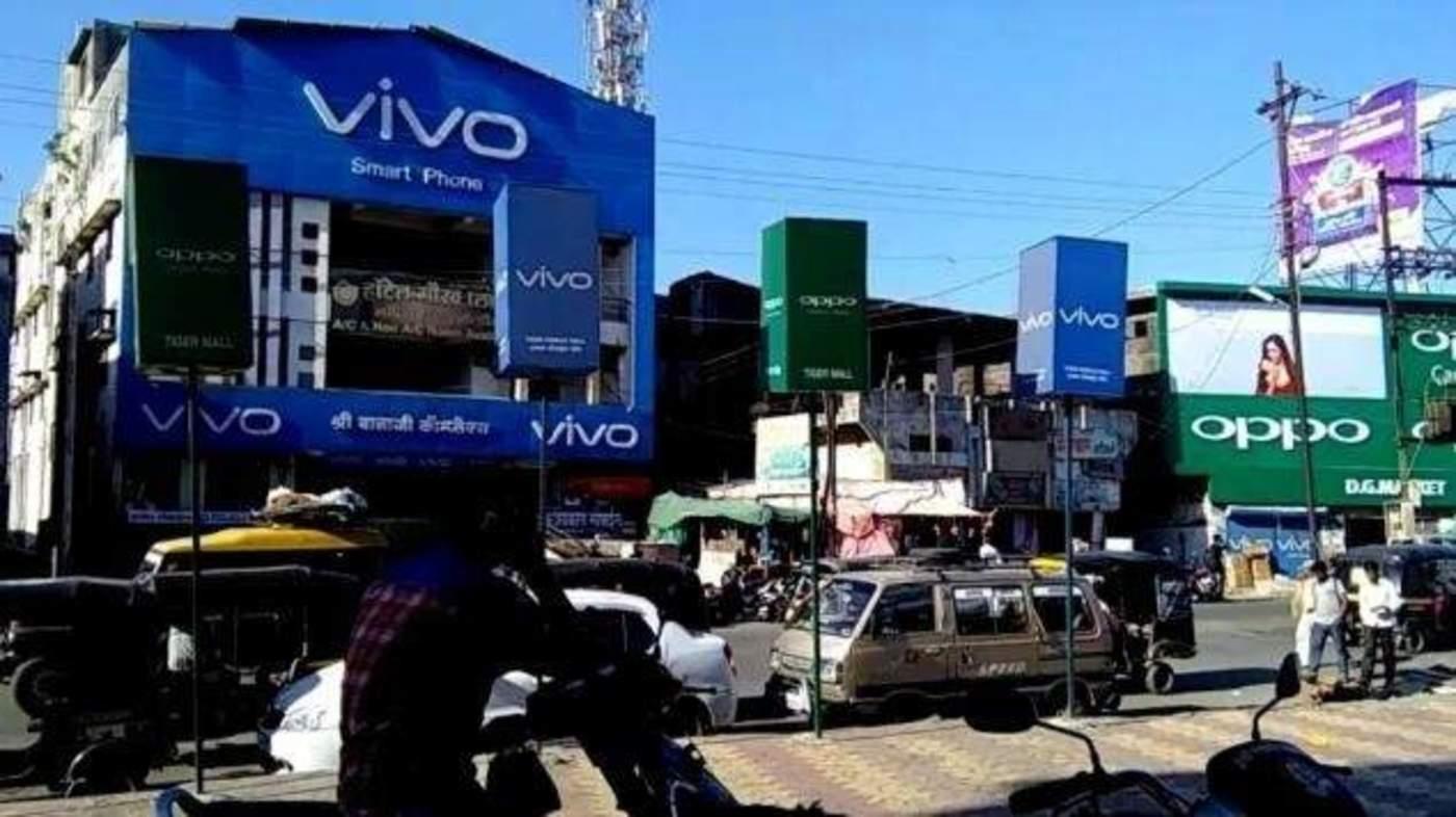 印度街头的手机店 / 手机前瞻网